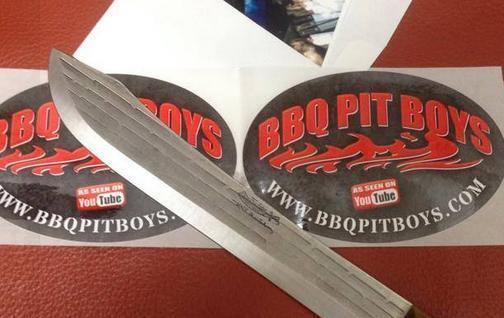 BBQ Pit Boys Stickers